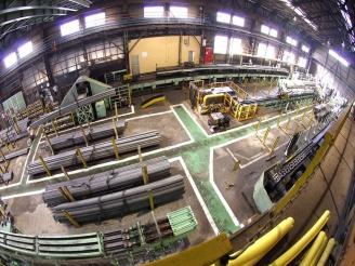 工場の内観
